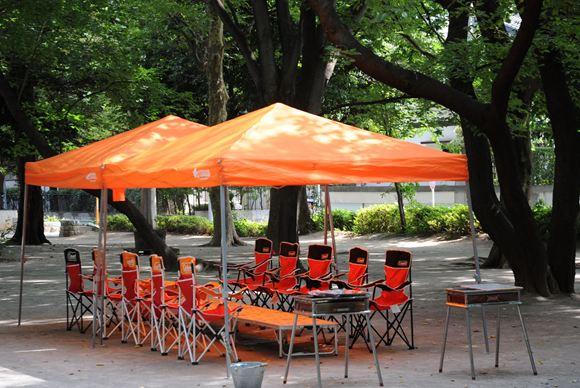板橋平和公園 BBQレンタル