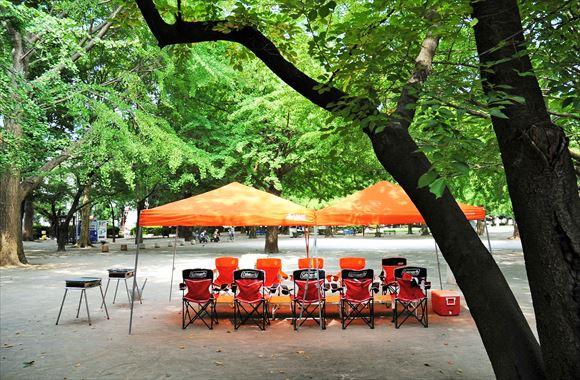 板橋平和公園 バーベキューレンタル