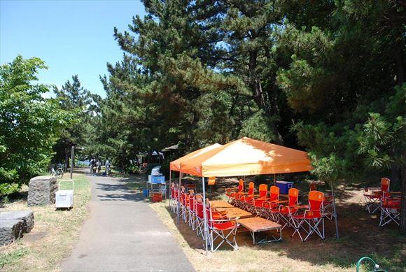 城南島海浜公園 手ぶらでバーベキュー