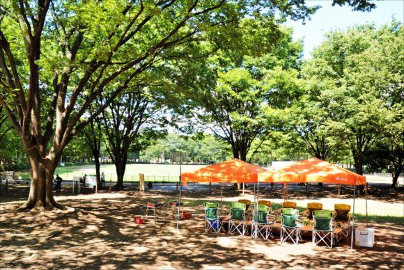 赤塚公園 BBQレンタル
