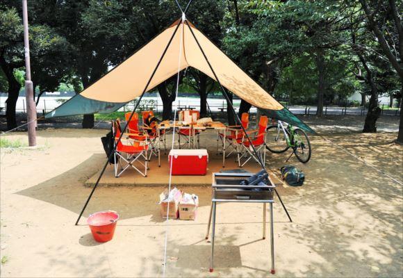 和田堀公園 バーベキューレンタル