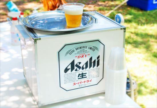 舎人公園バーベキュー 生ビールサーバー
