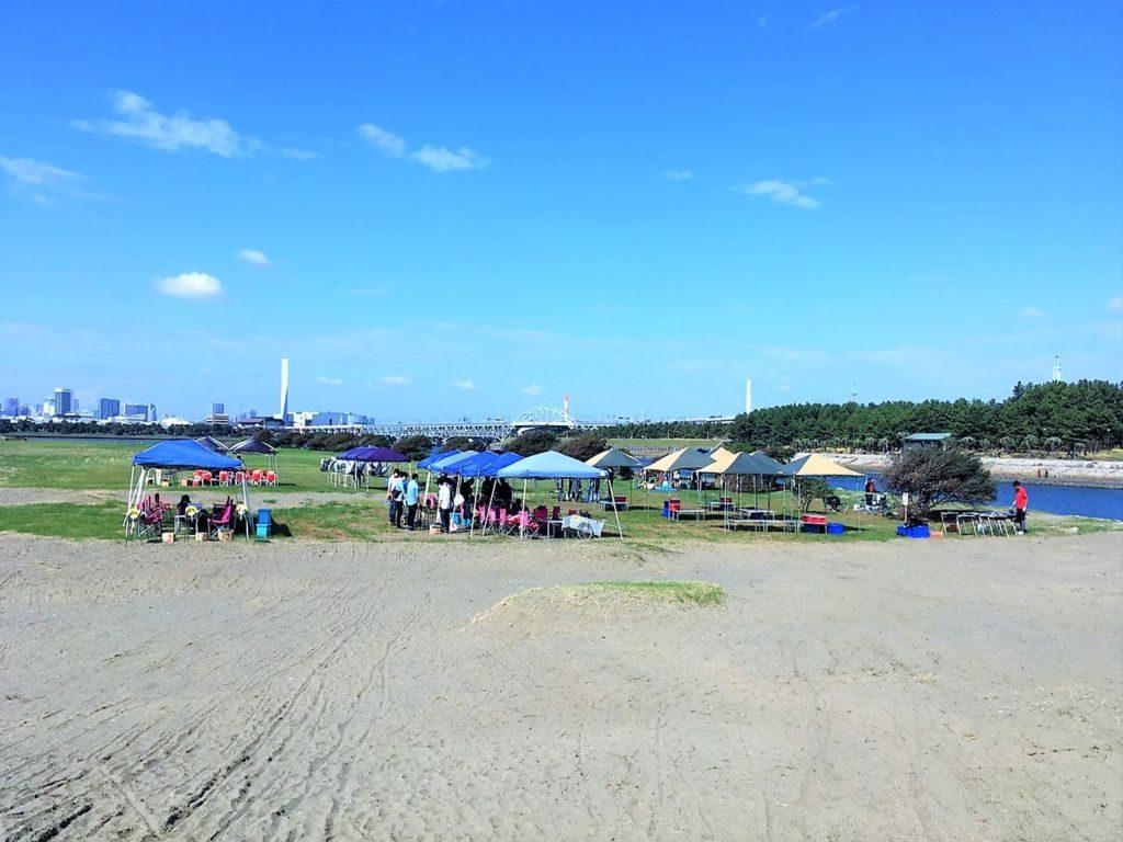 葛西海浜公園 bbqレンタル