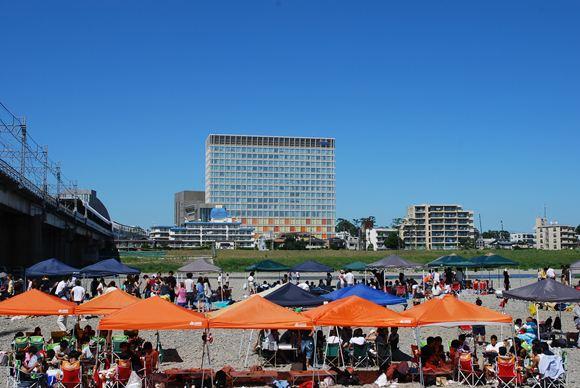 多摩川緑地公園 バーベキュー広場