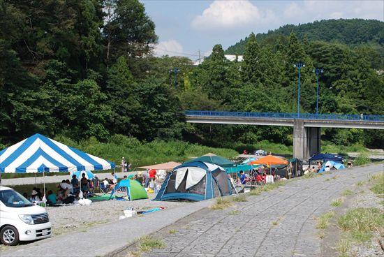 秋川橋河川公園BBQランド