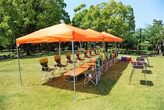 平和島公園 BBQレンタル
