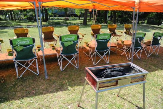 平和島公園 バーベキュー器材 配達
